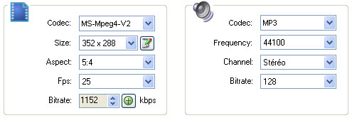 Video Audio Settings