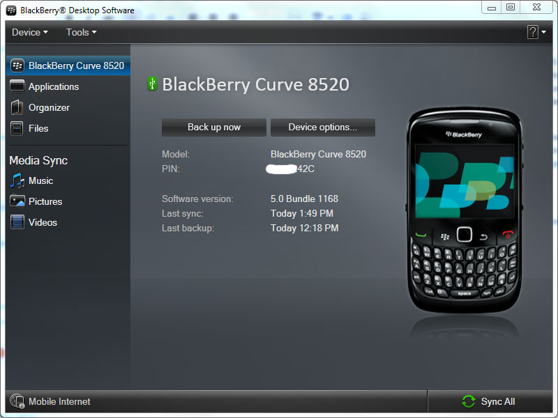 Descargar device software blackberry 9860